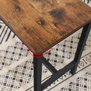 VASAGLE Table Benches, Set of 2 Industrial Style | ZedHouses