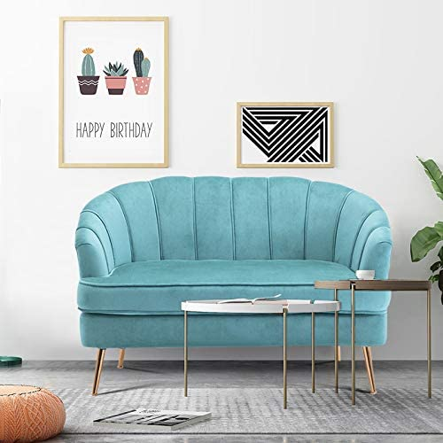 Warmiehomy Comfy Velvet Lounge 2 Seater Sofa | ZedHouses
