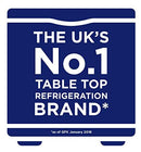 Russell Hobbs RHTTFZ1B 32L Table Top A+ Energy Rating Freezer Black