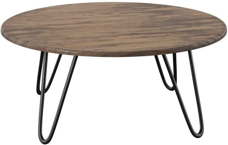 Aspect Brockton Round Coffee Table, Wood | ZedHouses