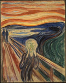 Wieco Art the Scream by Edward Munch Famous Paintings
