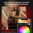 Philips Hue Discover White and Colour Ambiance Led Smart Garden Wall Light, Works with Smart Speaker, Google Assistant and Apple Homekit
