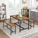 VASAGLE Dining Table for 4 People, Kitchen Table