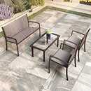 Garden Furniture Sets, 4 Pcs Dining Set | ZedHouses