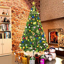 1.5m Christmas Tree Green Tree 390 Tips with Metal Stand