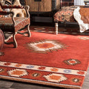 Hand Tufted Shyla Wool Accent Rug, 61 x 91 cm