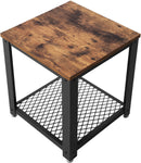 VASAGLE Industrial Side Table, Coffee Table | ZedHouses