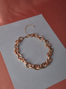 Thick Gold Oval Chain