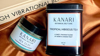 Sea Clay Mask and Tropical Hibiscus Tea