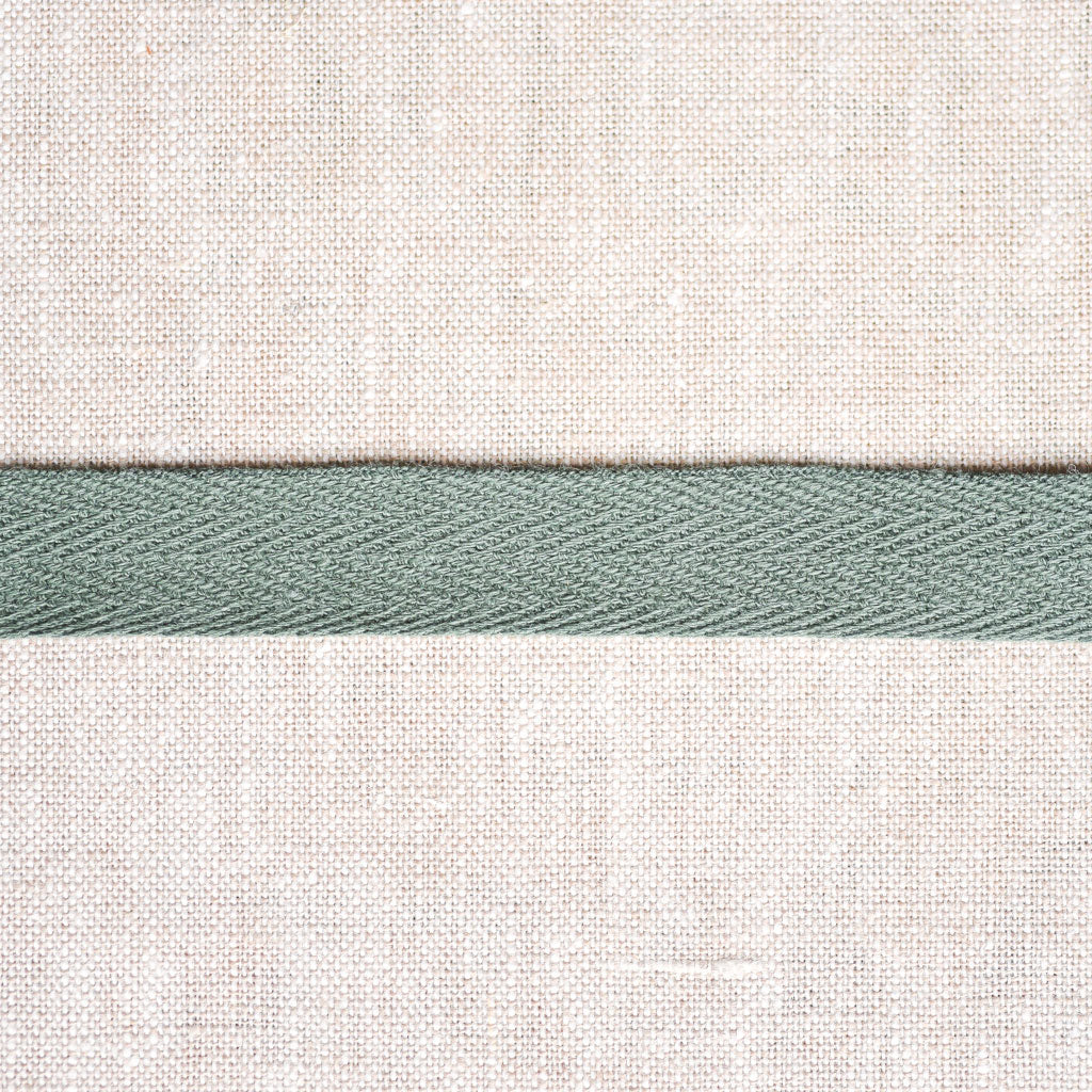 "Cotton Twill Tape : 1/2"" Wide : Hunter Green"