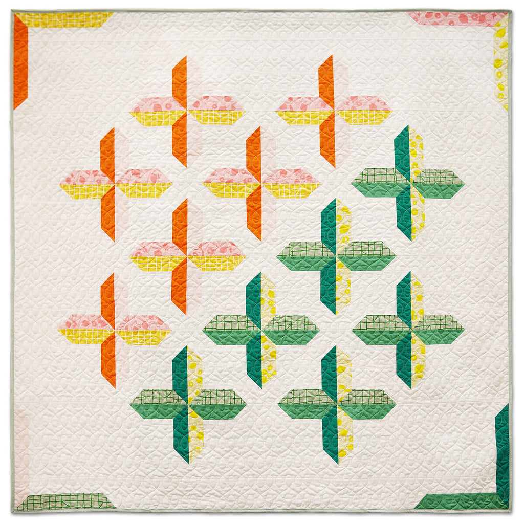 Fat Quarterly No 2 : Quilt Kit