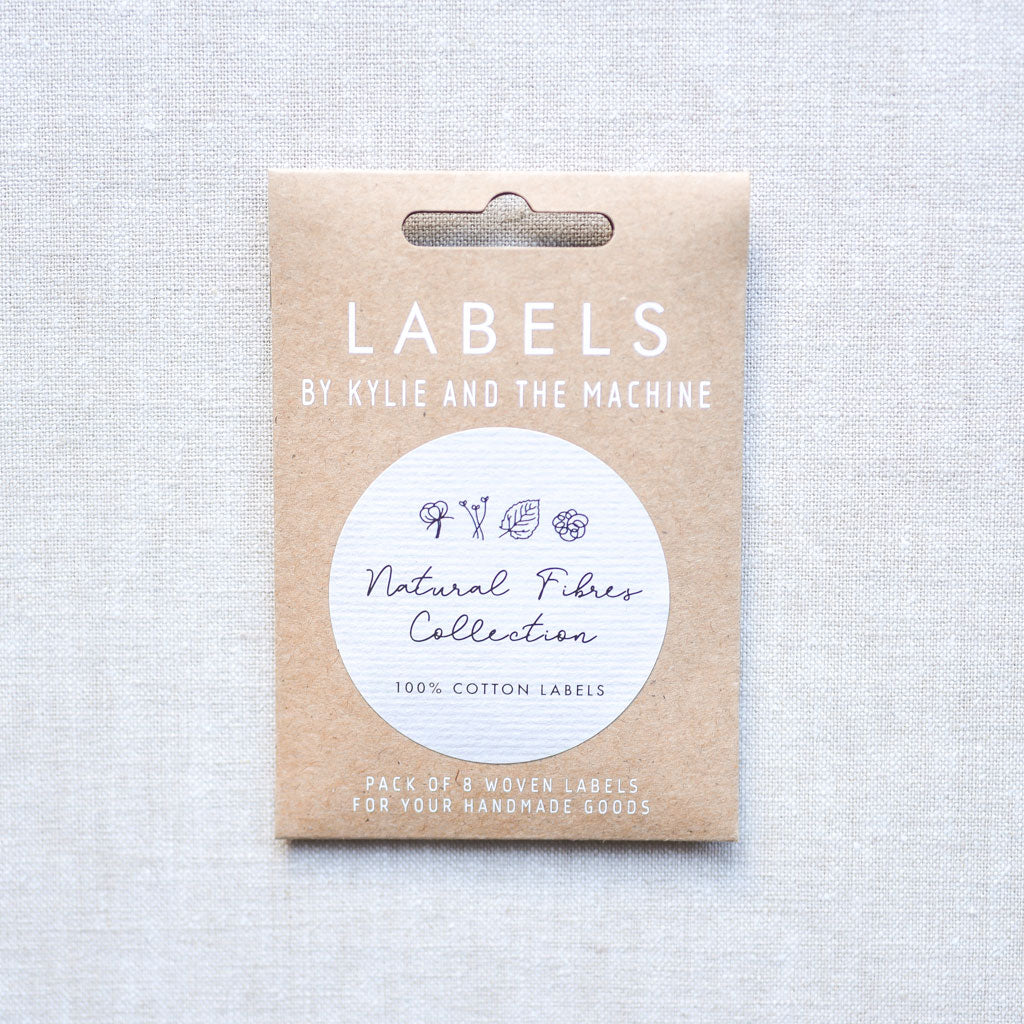 Kylie And The Machine : Woven Labels : Natural Fibres Collection : 8 pcs