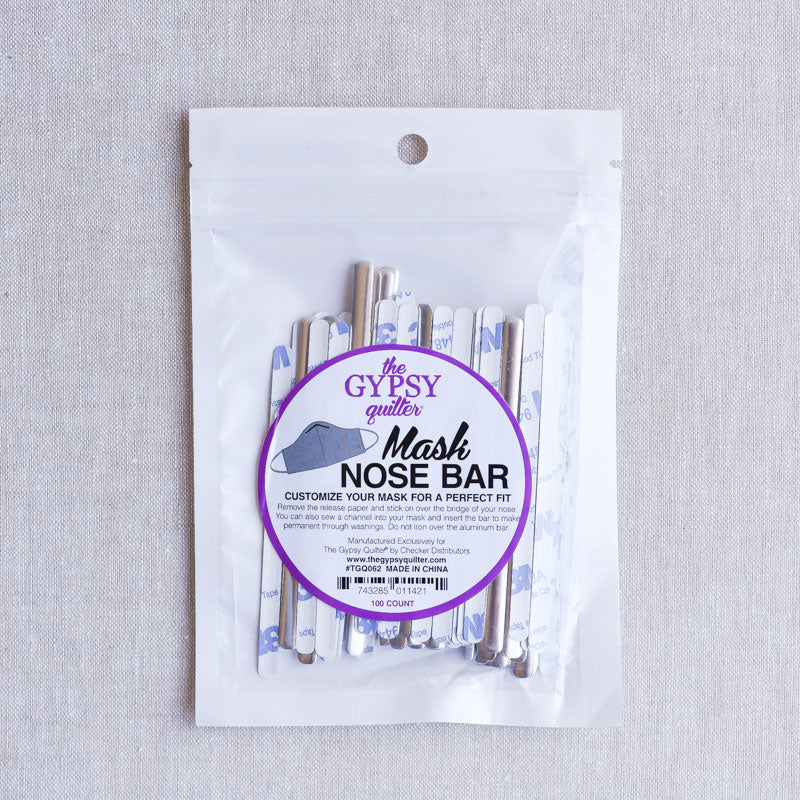 The Gypsy Quilter : Mask Nose Bar : 100 pcs.