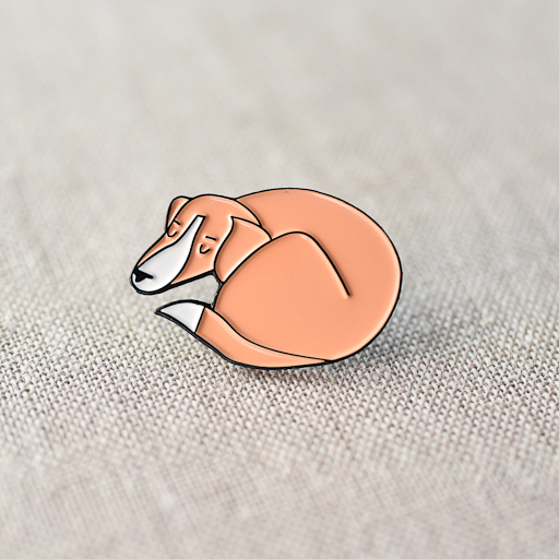 the workroom : Maisy Enamel Pin
