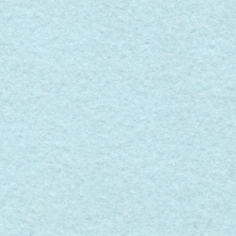 Wool Felt : By The Metre : Blue Snow