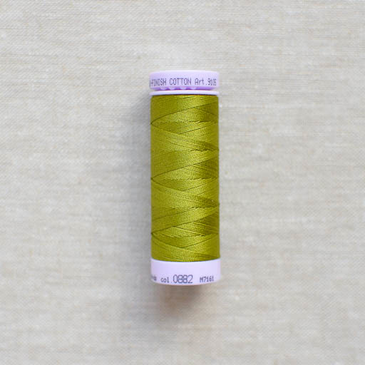 Mettler : Silk-Finish Cotton Thread : Moss Green : 150m