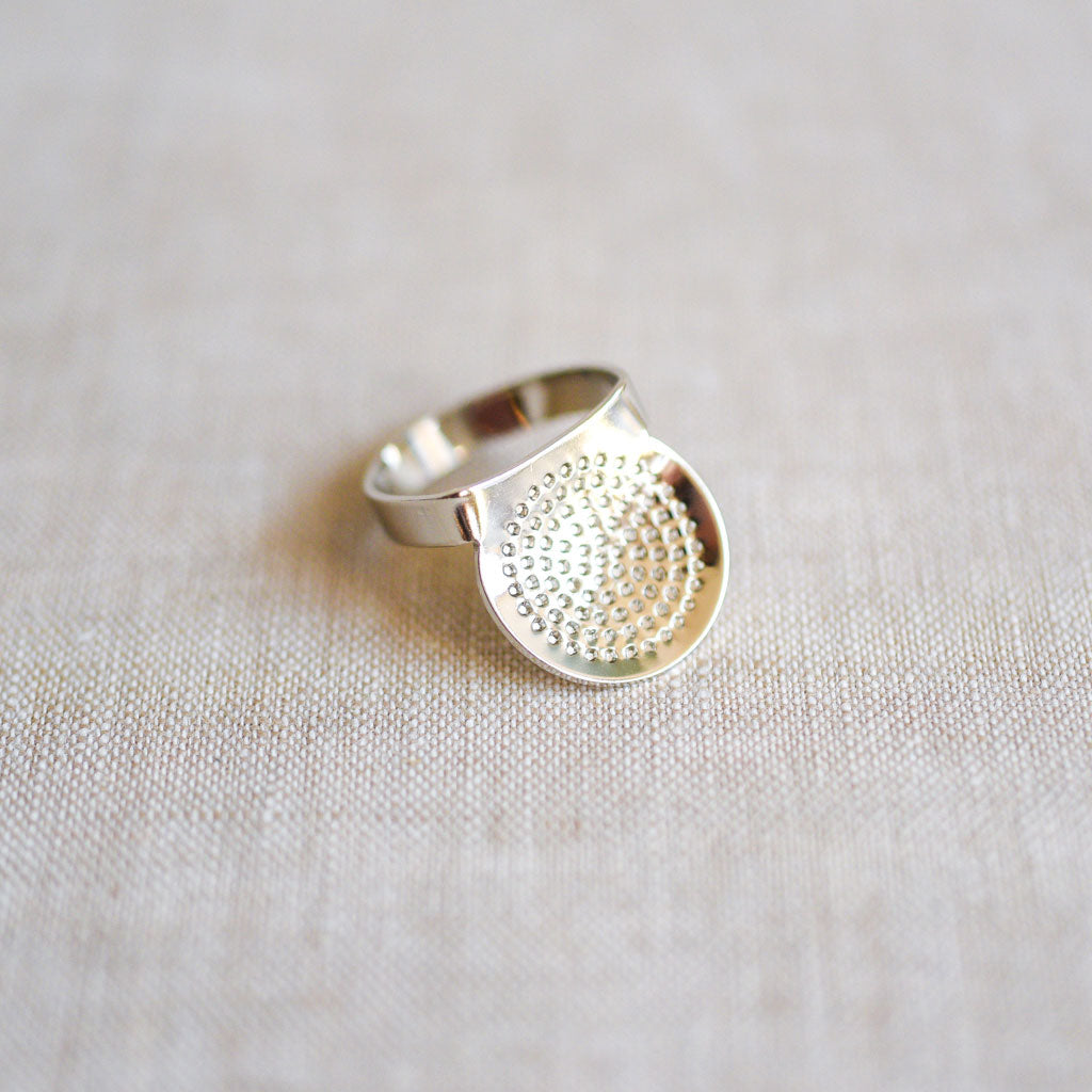 Tulip : Adjustable Ring Thimble
