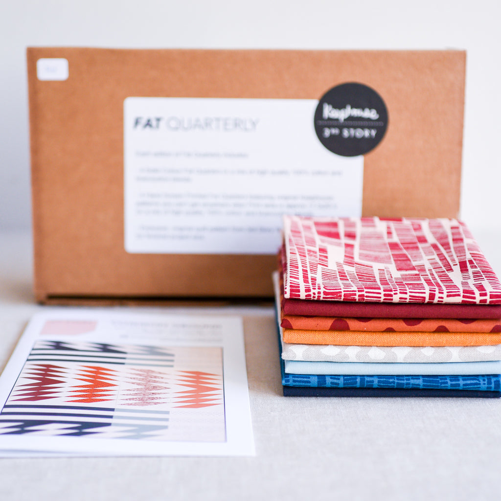 Fat Quarterly No 1 : Quilt Kit