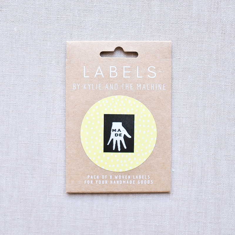 Kylie And The Machine : Woven Labels : Made : 8 pcs
