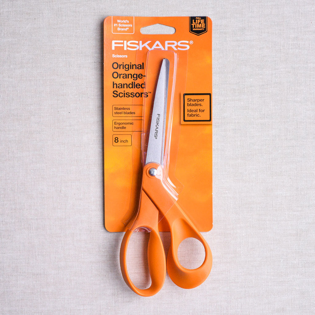 "Fiskars : All Purpose Bent Scissor : 8"" Right-Handed"
