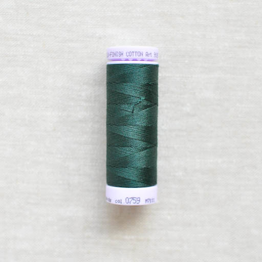 Mettler : Silk-Finish Cotton Thread : Spruce Forest : 150m