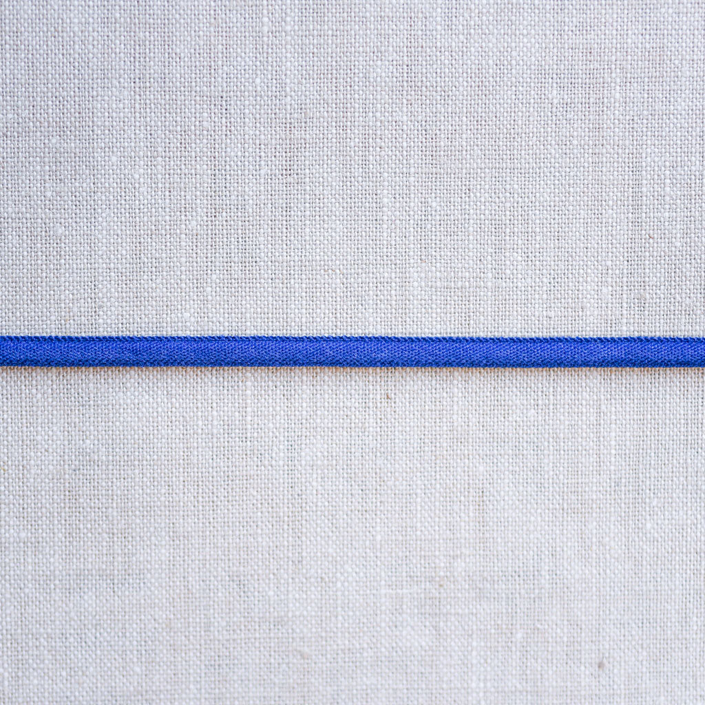 "Galaxy Notions  : Banded Stretch Elastic : Blue : 1/6"" wide by the metre"