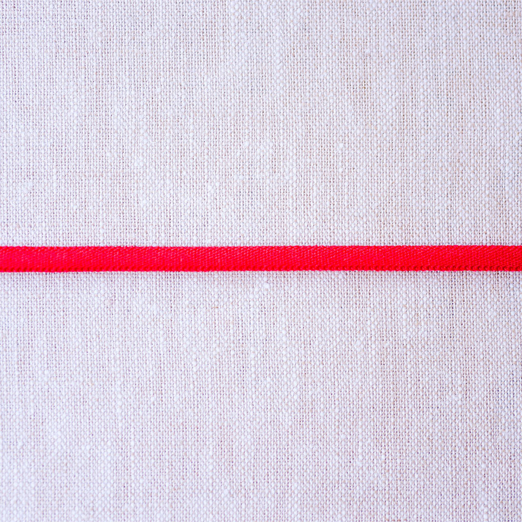 "Galaxy Notions  : Banded Stretch Elastic : Red : 1/6"" wide by the metre"