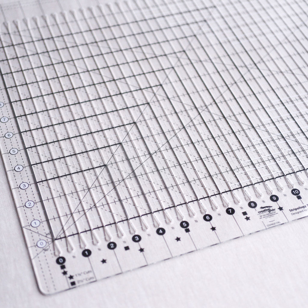 "Creative Grids : Stripology Ruler : Extra Large : 17 3/4"" x 22"""