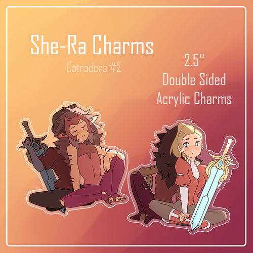 Catradora Charm: Separated