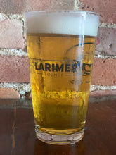 Load image into Gallery viewer, 3 Logo Pint Glass. Larimer Lounge, Lost Lake, Globe Hall