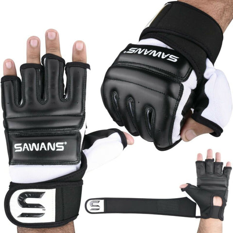 SAWANS Boxing Gel Gloves Hand wraps Punch Bag Inner Glove MMA Martial Arts UFC Gear