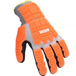 MSS1 Impact absorbing cut-resistant work gloves