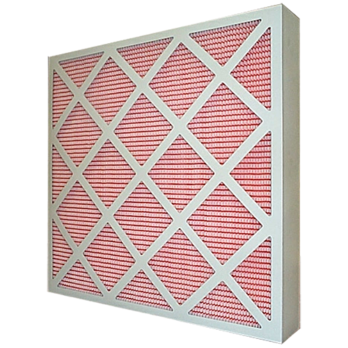 Air filter, G4 24x24x4 pleated panel