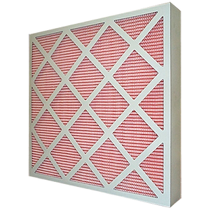 Air filter, G4 24x24x1 pleated panel