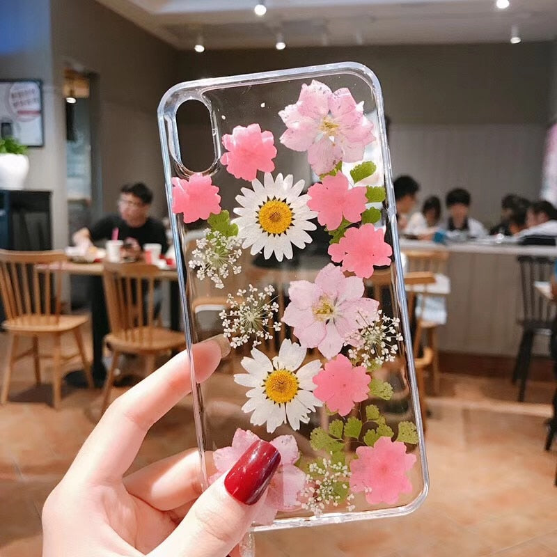 Pressed Floral Phone Cases-Phone Cases-Mon Stop Shop