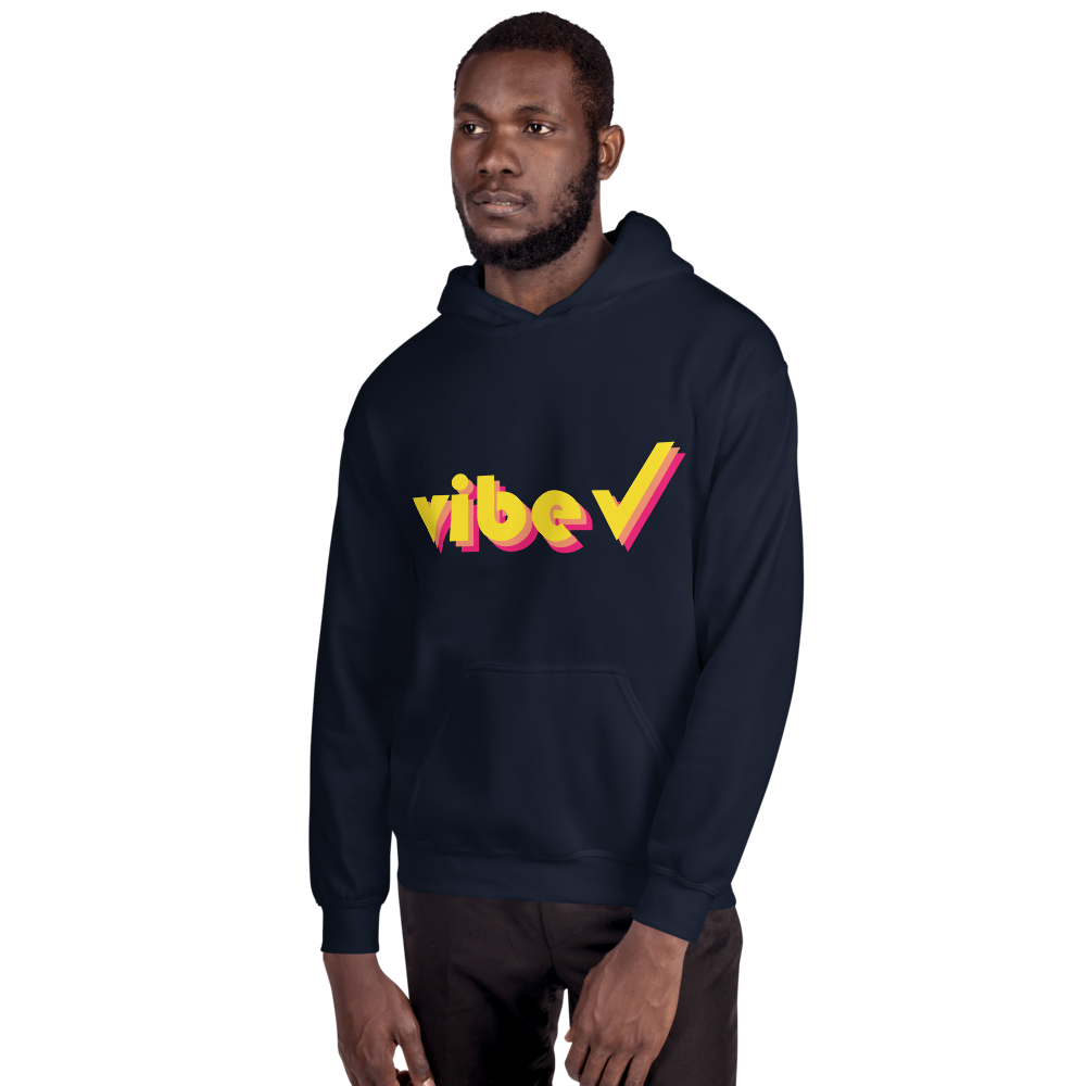 Vibe Check Retro Hoodie-Vibe Check-Mon Stop Shop