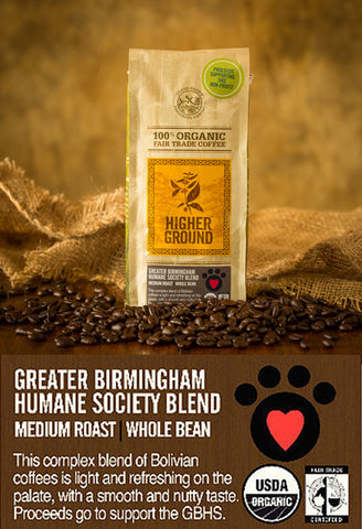 Greater Birmingham Humane Society Blend