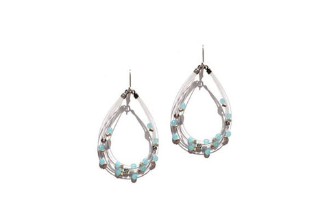 Bird's Nest Earring Aqua