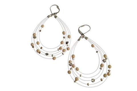 Bird's Nest Earring - Ivory