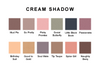Cream Shadow Color Chart