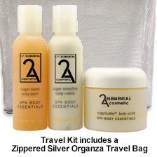 Sugar Butter Body Trio Travel Kit