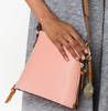 Top Stitch Messenger - Apricot - Lifestyle