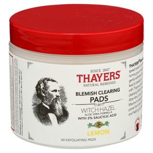 Thayers  Witch Hazel Blemish Clearing Pads Lemon