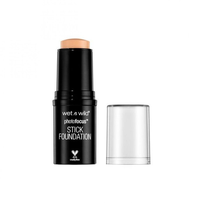 WET N WILD PHOTO FOCUS STICK FOUNDATION STICK SOFT BEIGE