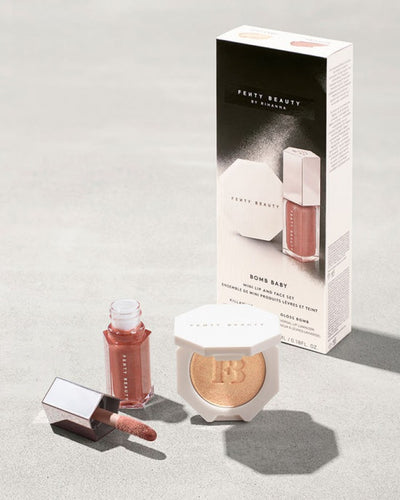 FENTY BEAUTY BY RIHANNA Bomb Baby Mini Lip and Face Set