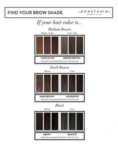 Load image into Gallery viewer, ANASTASIA BEVERLY HILLS BROW WIZ DARK BROWN