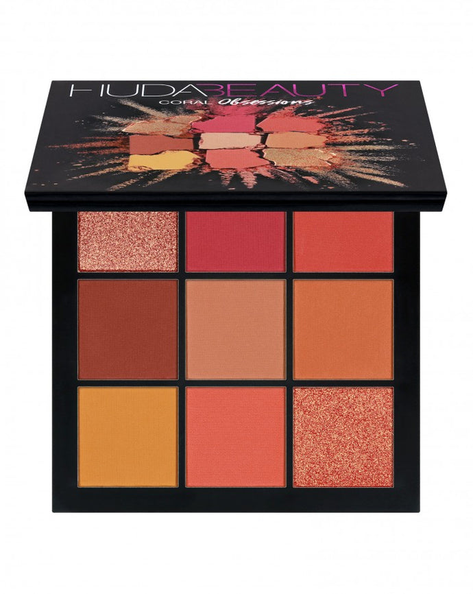 Huda Beauty Obsessions Eye shadow Palette Coral