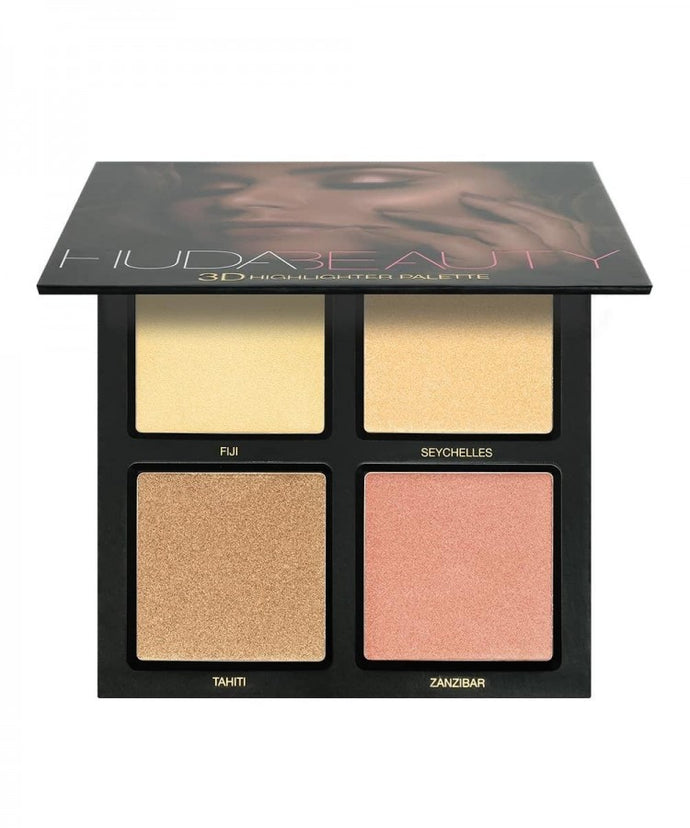 Huda Beauty 3d Highlighter Palette Golden Sand