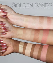 Load image into Gallery viewer, Huda Beauty 3d Highlighter Palette Golden Sand