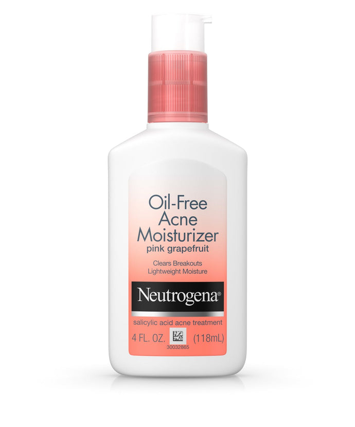 Neutrogena Oil-Free Acne Moisturizer Pink Grapefruit - 4oz